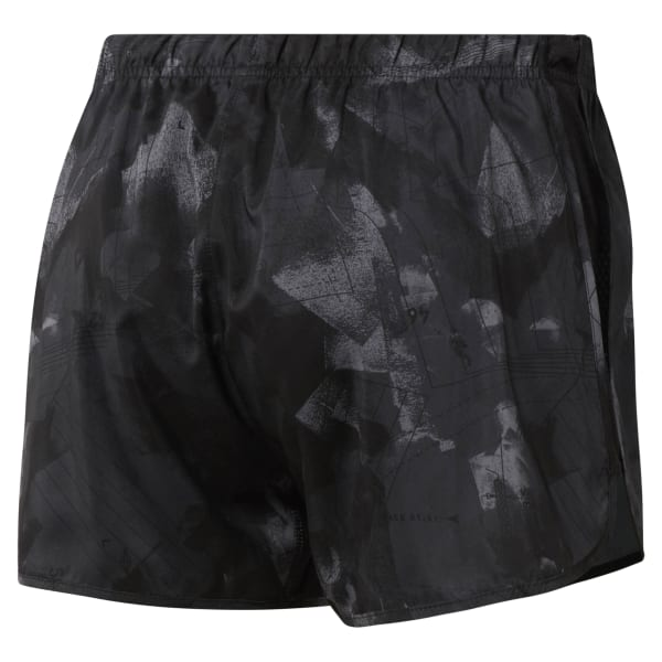 Short de running en toile (2,5 cm) - AOP