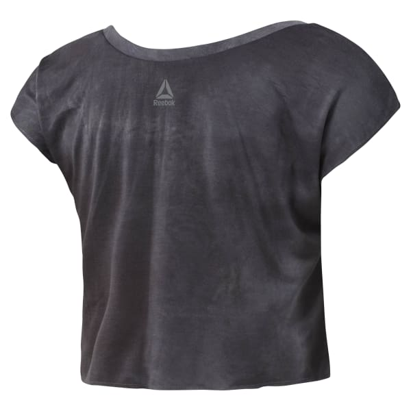 T-shirt Combat Spray Dye Crop