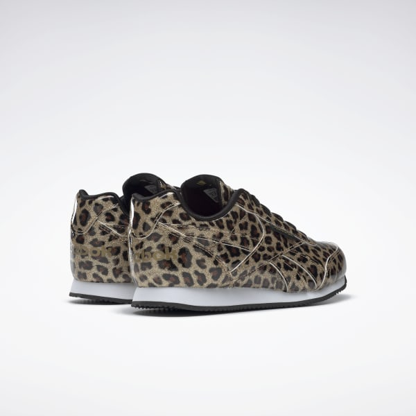 Reebok leopard cheetah animal print sneakers