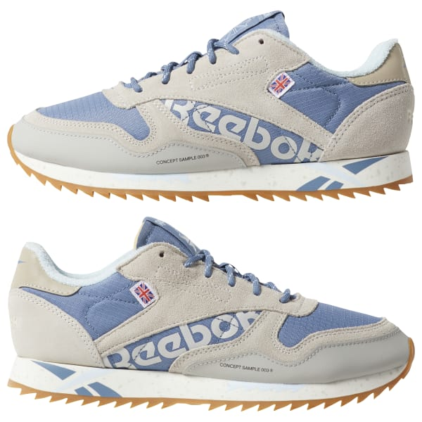 8c900d143bb Reebok Classic Leather Ripple Altered - Blue