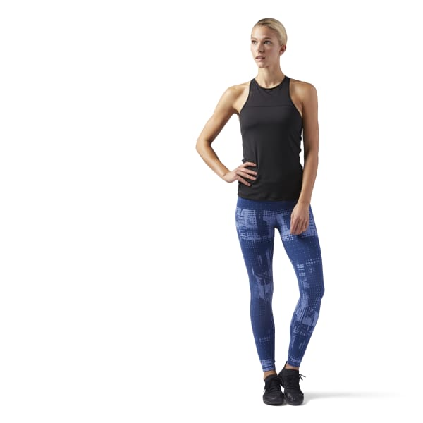 LES MILLS Tank With Built In High Support Sports Bra
