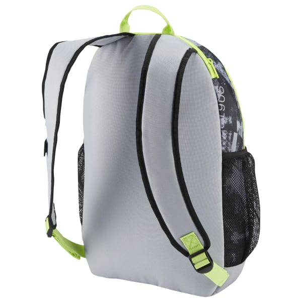 Reebok Style Active Foundation Graphic Backpack - Grey  69cb8bfeb35ce