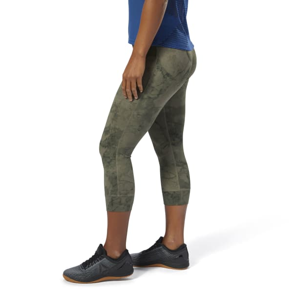Reebok CrossFit Lux 3/4 Tight – Stone Camo