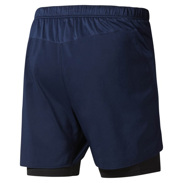 Pantalón corto Running 2-in-1