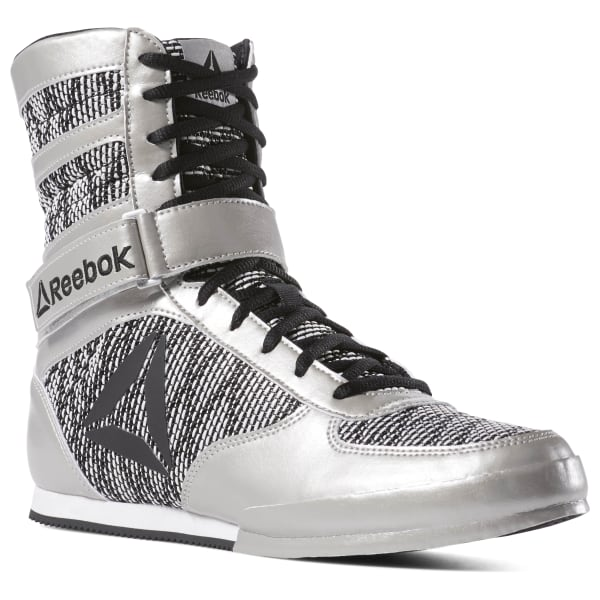 Boxing Boots - Silver | Reebok