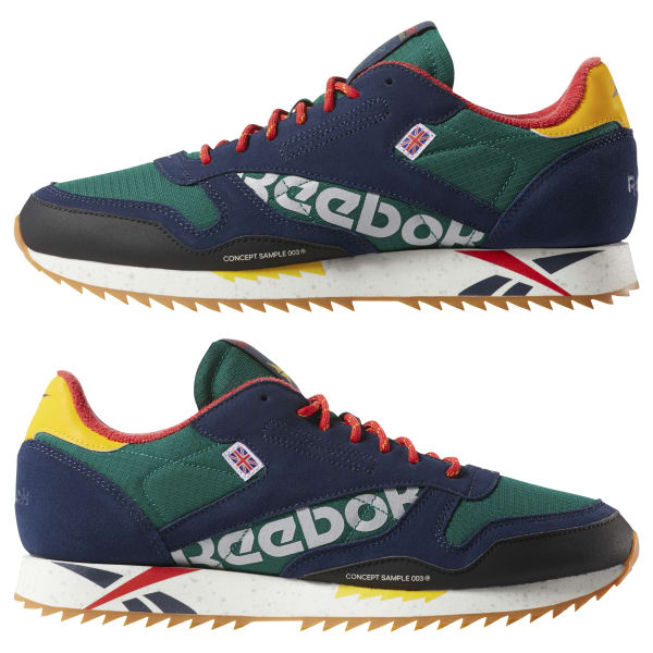 Reebok Classic Leather Ripple Altered - Green  152bc3187