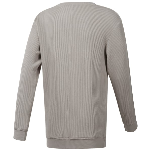 Noble Fight Sand Washed Knit Crewneck