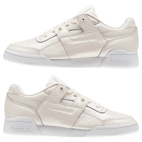 REEBOK CLASSIC WORKOUT Lo Plus Iridescent Shoes Sneakers