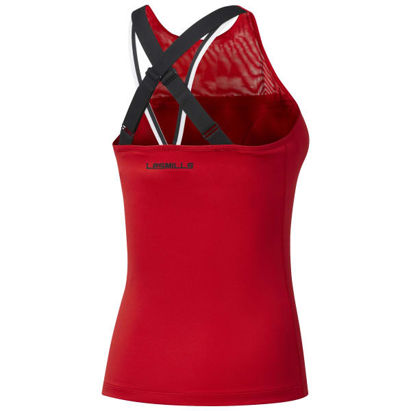 LES MILLS BODYPUMP  Tank With Padded Built In Sports Bra