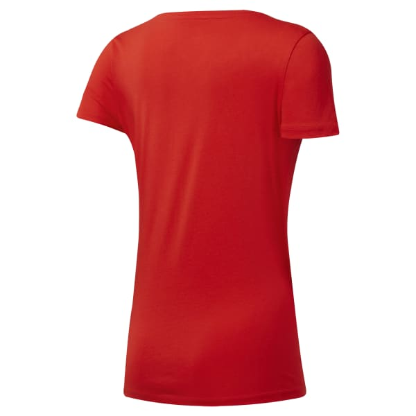 T-SHIRT REEBOK LINEAR READ SCOOP NECK