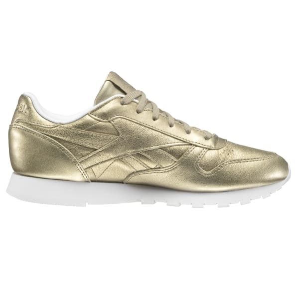 e381bb8a01f Reebok Classic Leather Melted Metals - Gold
