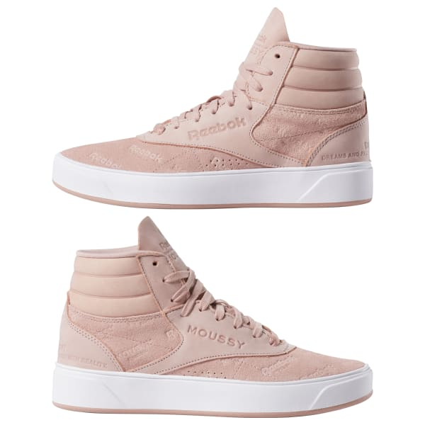 Reebok Freestyle Hi Nova X Moussy Women's Shoes Big Apple