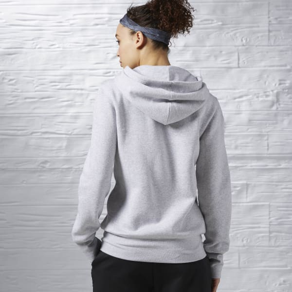 Women's global blank full-zip hoodie