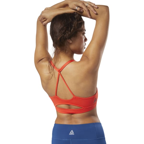 ad27bd24b9 Reebok Workout Ready Bra - Red | Reebok MLT