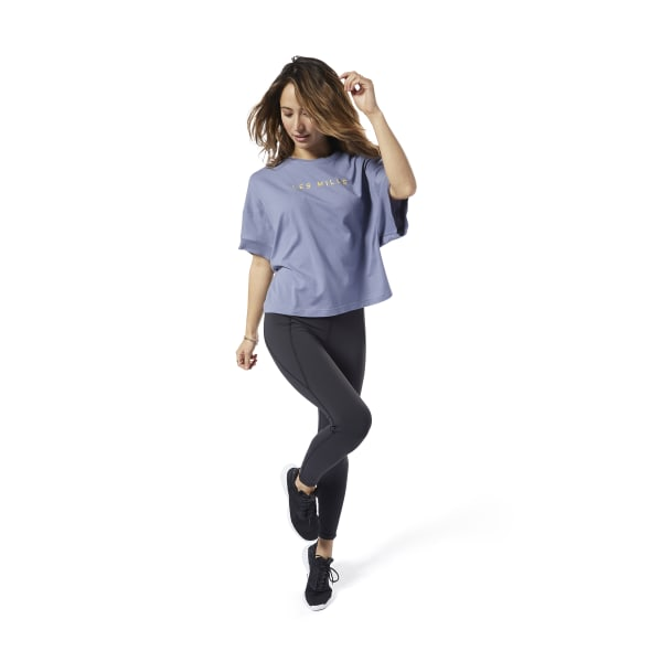LES MILLS® Performance Crop Tee