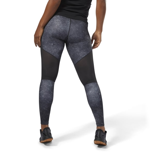 Reebok CrossFit Comp Tight AOP - Black | Reebok US