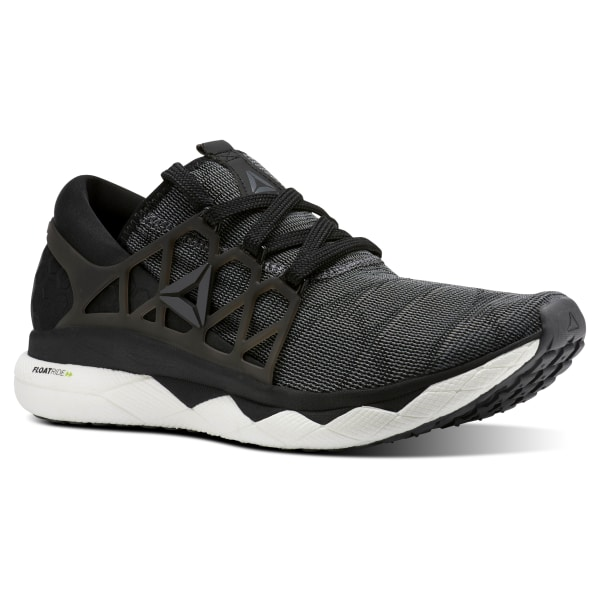 Reebok Floatride Run Flexweave Black   White   Ash Grey CN5227 2d21abcb9