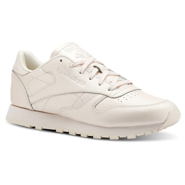 pink reebok classic leather