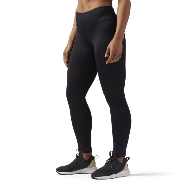 Reebok Training Work Out Ready Compression Tights In Black