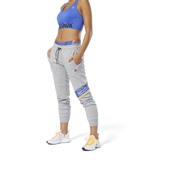 Wor Meet You There Graphic Joggers by Reebok