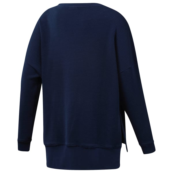 Свитшот Combat Washed Ribbed Crewneck