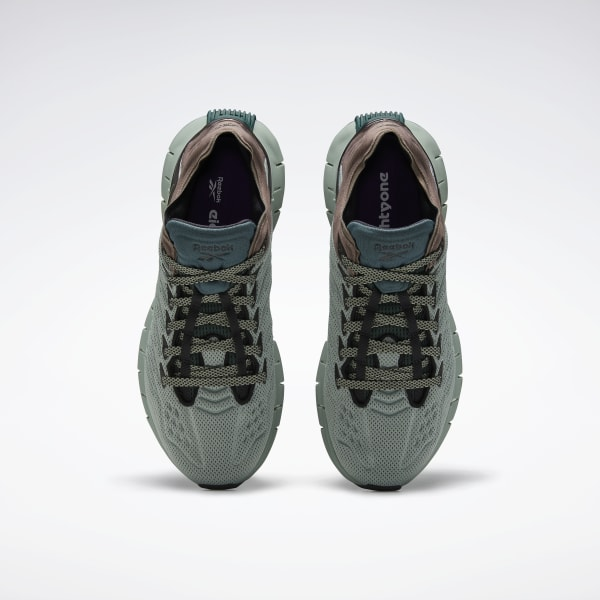 Reebok Zig Kinetica EightyOne Vainl Archive Green Grey Men Lifestyle FW4779