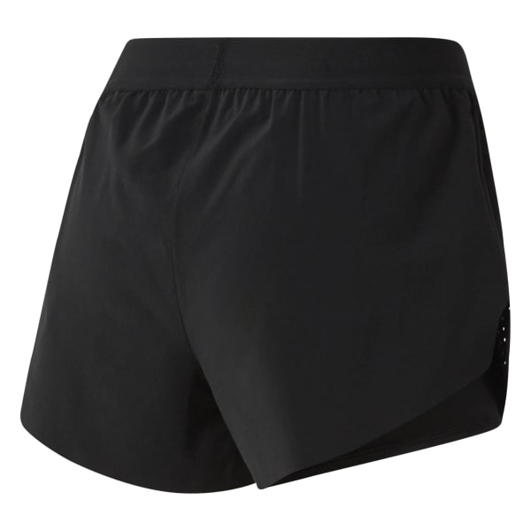 2-in-1 Perforated Shorts