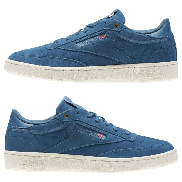 361159bbf901a Reebok Club C 85 Montana Cans collaboration - Blue
