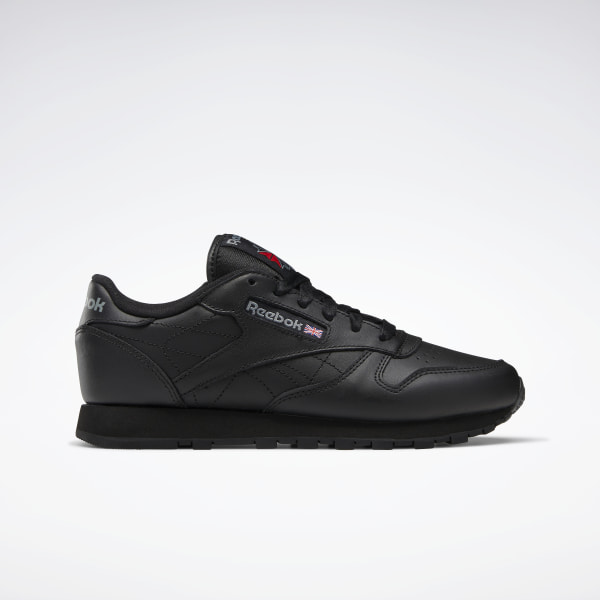 reebok classic cl leather black