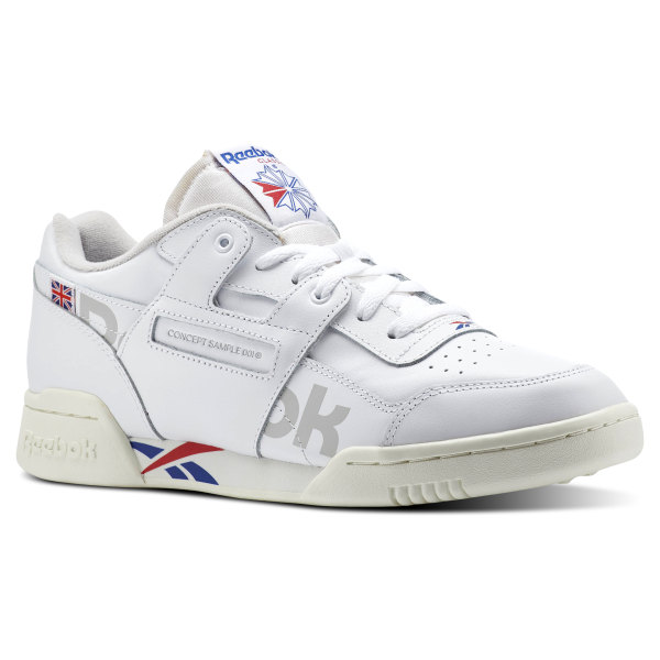 Reebok Workout Plus Mu Trainers With Vector Branding In