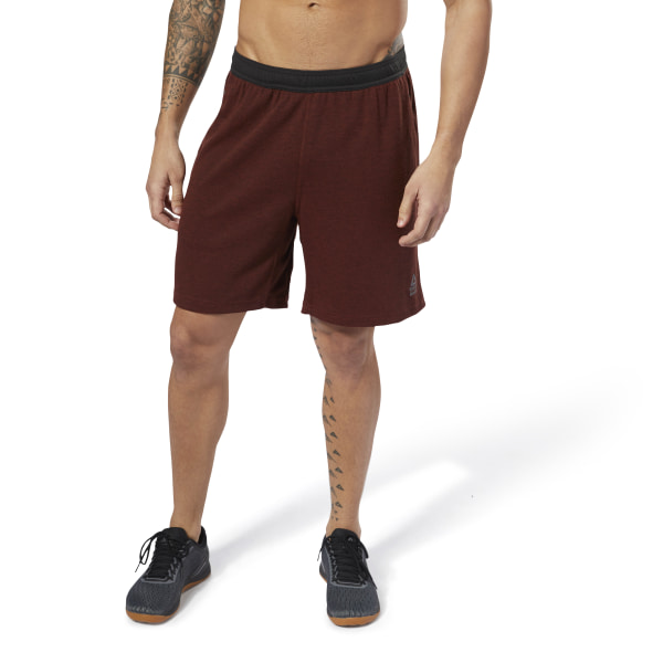 Reebok CrossFit Speedwick Shorts - Red | Reebok MLT
