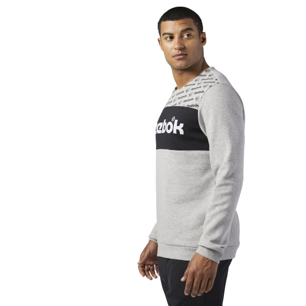 Big Discount Reebok Classics Graphic Crew Neck Sweatshirt