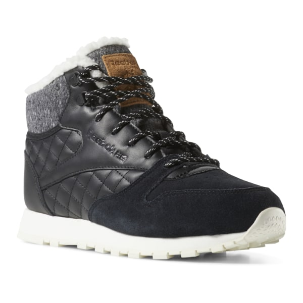 Reebok Classic Leather Arctic Boot Black | Reebok MLT