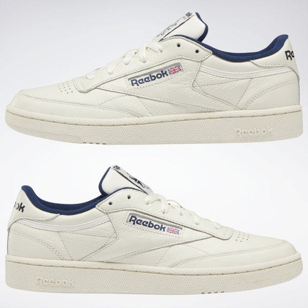 Club C 85 Vintage | Reebok white sneakers, Club c 85 vintage