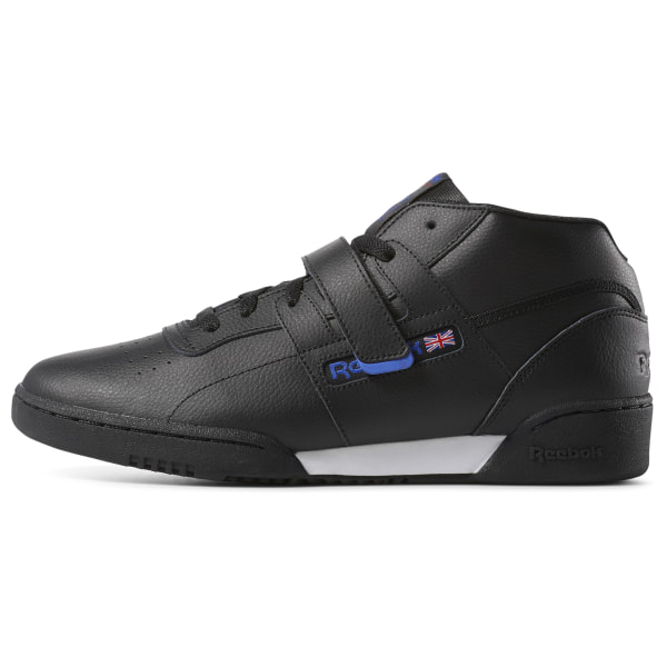 reebok men's workout mid classic sneaker