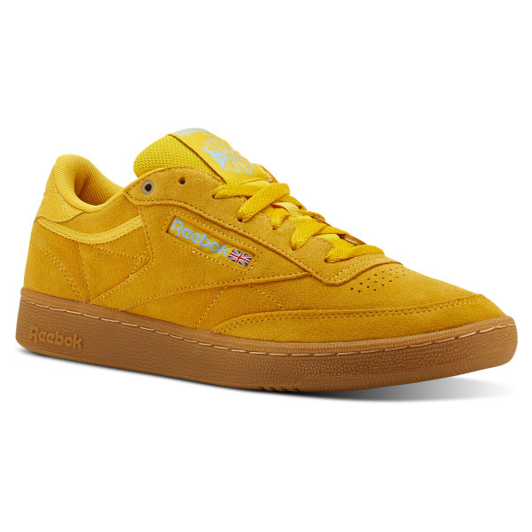 Reebok Club C 85 MU Yellow | Reebok Canada