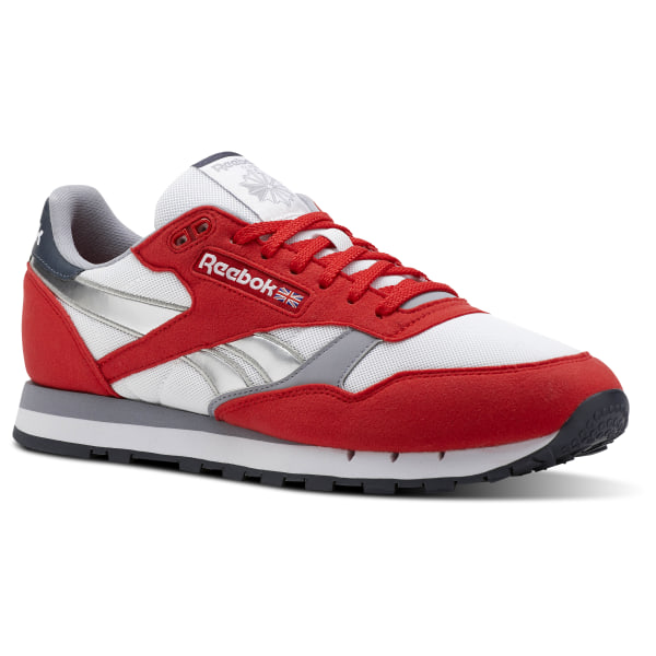 Reebok Classic Leather Double | Red | Sneakers | DV3632