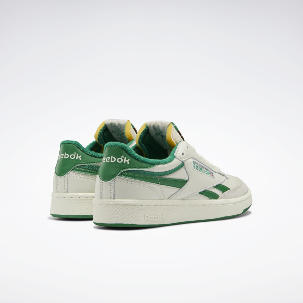 Reebok Club C 1985 TV ChalkPaper WhiteGlen Green