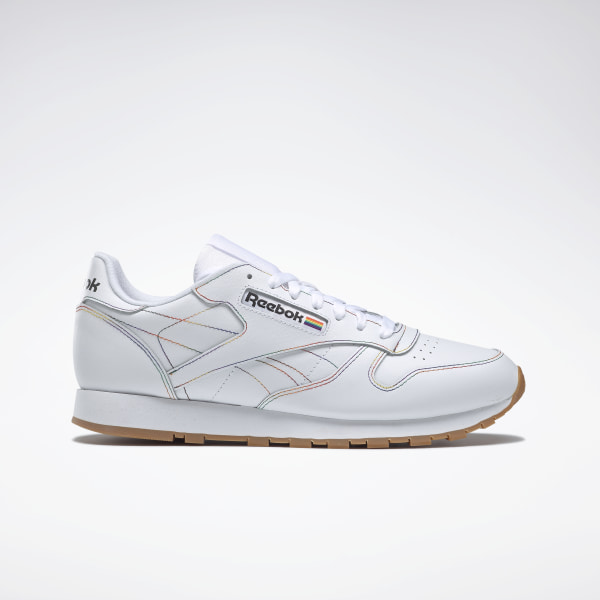 Reebok Classic 039501 Womens SNEAKERS White Leather Walking Running Shoes Size 5