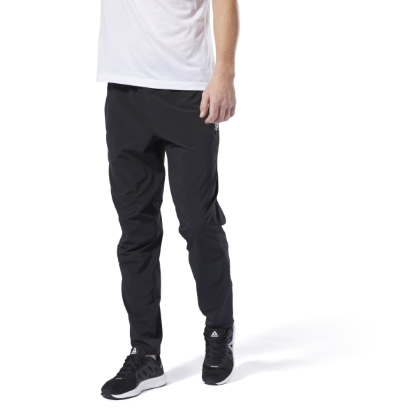 Reebok Running Track Pants Black | Reebok US