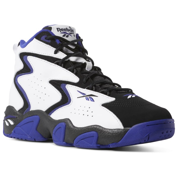 Reebok Pump Hexalite Blue, Black and White Reebok high tops