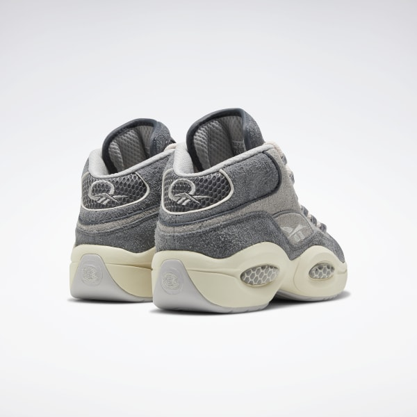 Reebok Question Mid Basketball Shoes Grey | Reebok US