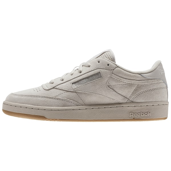 reebok club c 85 sg trainers in tan bs7891