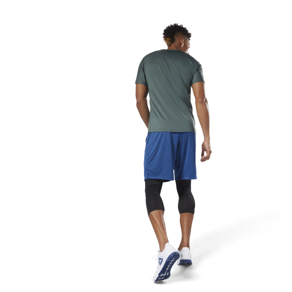 Reebok SpeedWick Knit Short Blue | Reebok Canada