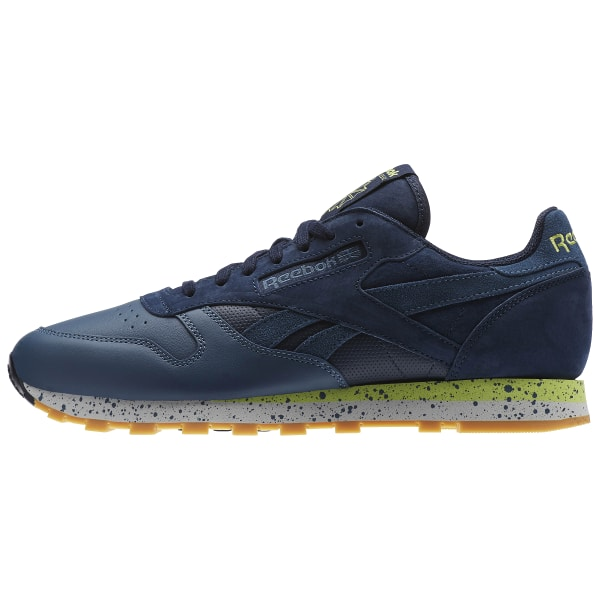 reliable quality outlet for sale size 7 Reebok Classic Leather Speckle Midsole Pack - Blue | Reebok US