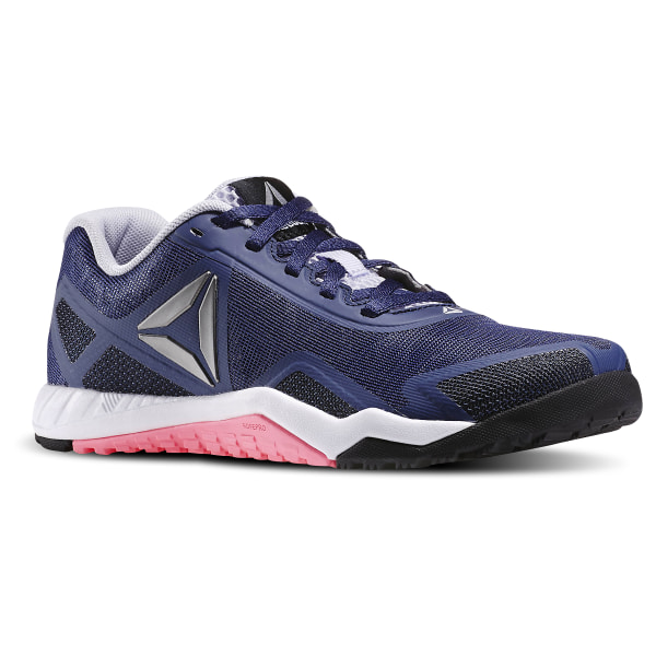 Tenis Reebok Crossfit Mujer Azul Rosa Workout Tr 2.0 Ar2981