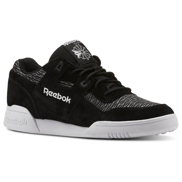 Reebok Workout Plus Low Trainer | White | Footasylum