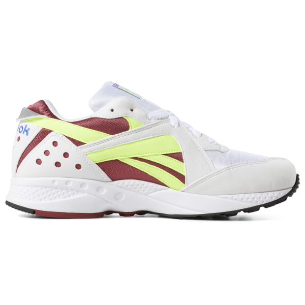 Reebok Sko Pyro WhiteMeteor RedNeon