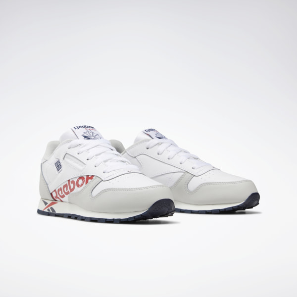 Classic Leather White / Grey / Navy / Red DV9602