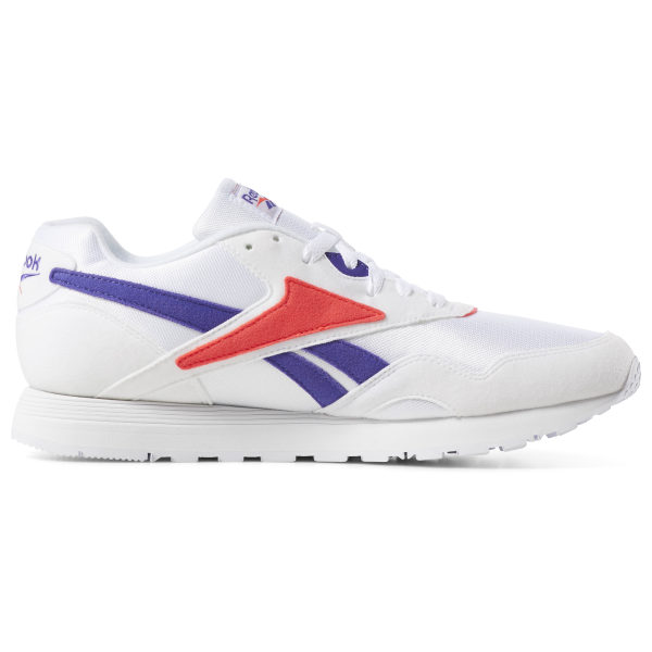 red dv3805 baskets purple reebok rapide mu neon white team DHEI2YW9